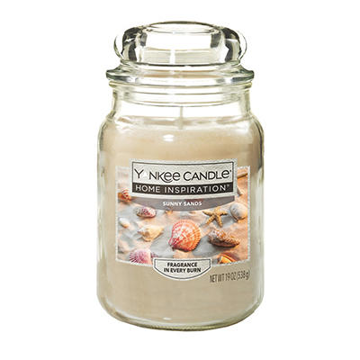 Yankee Candle Jar Candle, 19 oz. - Sunny Sands