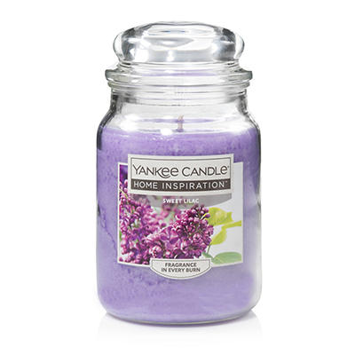 Yankee Candle Jar Candle, 19 oz. - Sweet Lilac