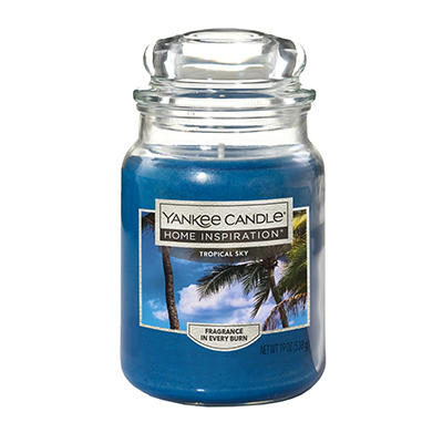 Yankee Candle Jar Candle, 19 oz. - Tropical Sky