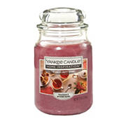 Yankee Candle Jar Candle, 19 oz. - Warm & Happy Home