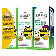 Zarbee's Naturals Cough Syrup Variety Pack, 3 pk./4 fl. oz.