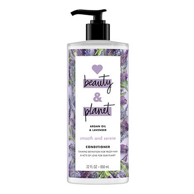 Love Beauty and Planet Smooth and Serene Argan Oil and Lavender Condit