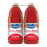 Ocean Spray Ruby Red Grapefruit Juice, 2 pk./96 oz.