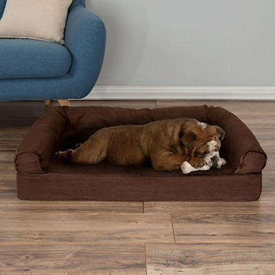 PETMAKER Medium/Large Orthopedic Pet Sofa Bed - Brown