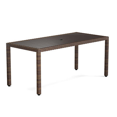 Handy Living Azura Indoor/Outdoor Dining Table - Brown