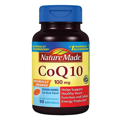 Nature Made 100mg Balanced CoQ10, 90 ct.