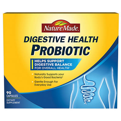 Nature Made Digestive Health Probiotic, 90 ct.