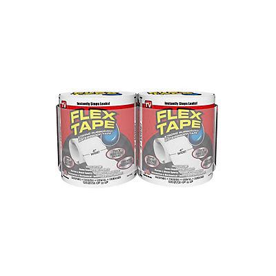 """Flex Seal 4"""" Flex Tape, 2 pk. - White"""