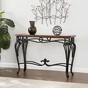 SEI Martine Sofa Table - Dark Cherry