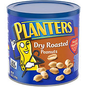 Planters Dry Roasted Peanuts, 52 oz.