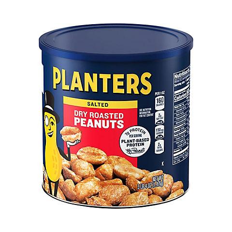 Planters Dry Roasted Peanuts - BJs