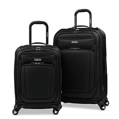 Samsonite Sphere 2-Pc. Softside Luggage Set - Black