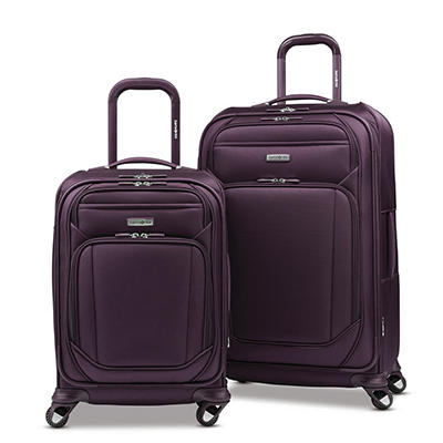 Samsonite Sphere 2-Pc. Softside Luggage Set - Violet