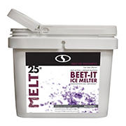 Snow Joe MELT BEET-IT CMA and Beet Extract Ice Melt Bucket, 25 lbs.