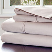 Lavish Home 1,000-Thread-Count Cotton Sateen Sheet Set - Champagne