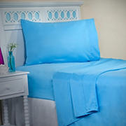 Lavish Home 1200 Series Twin XL-Size 3-Pc. Sheet Set - Light Blue