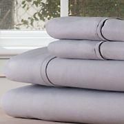 Lavish Home 1200 Series Twin XL-Size 3-Pc. Sheet Set - Silver
