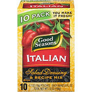 Good Seasons Italian Dressing and Recipe Mix, 10 pk.