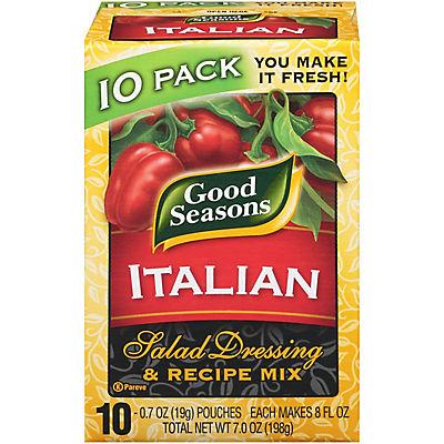 Good Seasons Italian Dressing and Recipe Mix, 10 pk.
