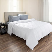 Lavish Home King-Size Down Alternative Comforter - White