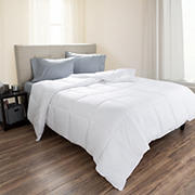 Lavish Home Twin-Size Ultra Soft Alternative Comforter - White