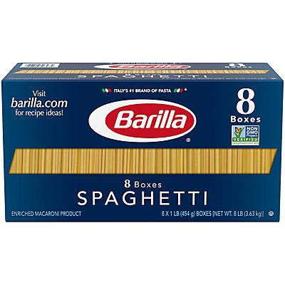 Barilla Spaghetti Pasta, 8 pk./16 oz.