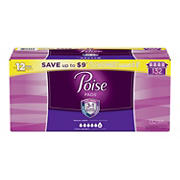 Poise Ultimate Absorbency Incontinence Overnight Pads, 132 ct.