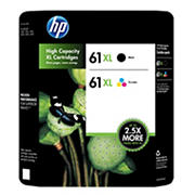 HP 61XL Combo Ink Cartridges, 2 pk.