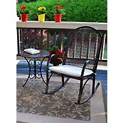 Tortuga Outdoor 2-Pc. Garden Rocker Set - Black