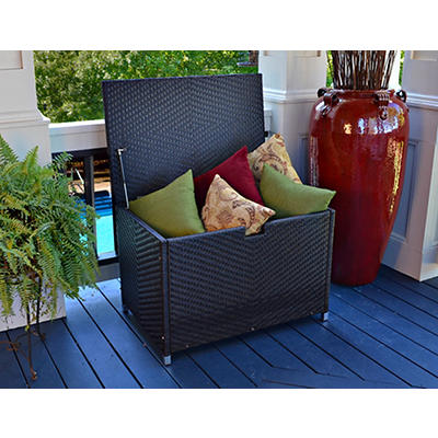 Tortuga Outdoor Storage Box - Brown