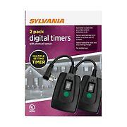Sylvania Digital Timers, 2 pk.