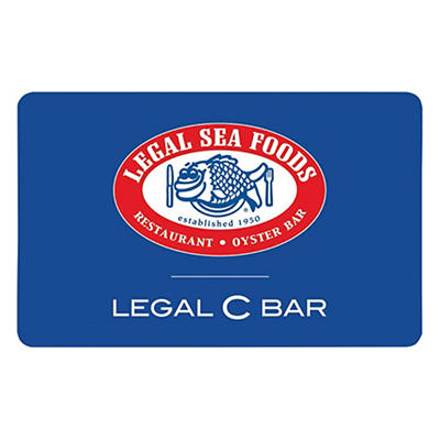 $25 Legal Sea Foods Gift Card