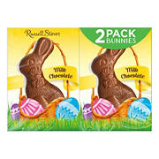 Russell Stover Milk Chocolate Rabbits, 2 pk./7 oz.