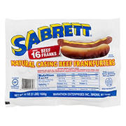 Sabrett Natural-Casing Beef Frankfurters, 16 ct.