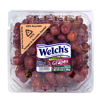 Seedless Red Grapes, 3 lbs.