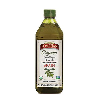 Pompeian Organic Extra Virgin Olive Oil, 48 fl. oz.