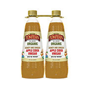 Pompeian Organic Honey Ginger Apple Cider Vinegar, 2 pk./32 fl. oz.