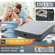 Intex Dura-Beam Comfort Plus Queen Size Airbed