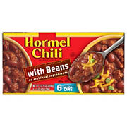 Hormel Chili with Beans, 6 pk./15 oz.