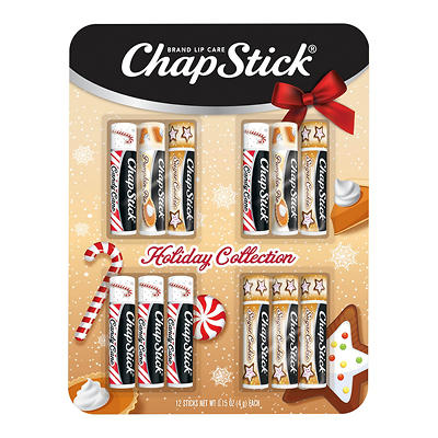 ChapStick Holiday Collection, 12 pk.