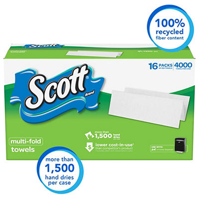 Scott Multi-Fold Paper Towels, 4,000 ct.