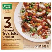 Healthy Choice Cafe Steamers General Tso's Spicy Chicken, 3 pk./10.3 oz.