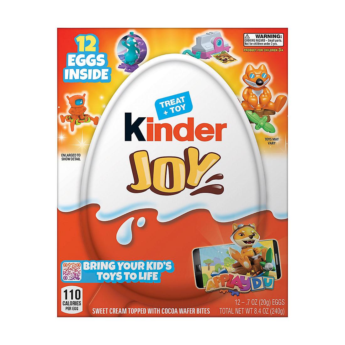 Kinder Egg Chair.Kinder Joy 12 Pk