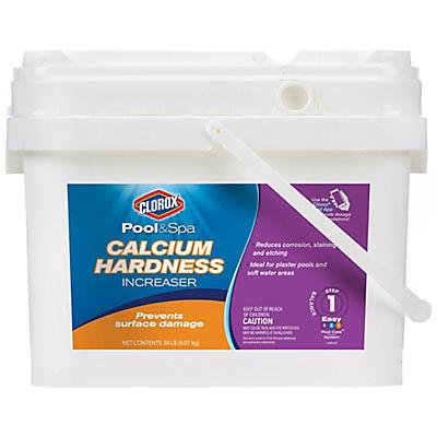 Clorox Pool & Spa Calcium Hardness Increaser, 20 lbs.