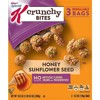 Kellogg's Special K Honey Sunflower Seed Crunchy Bites, 3 pk./5.5 oz.