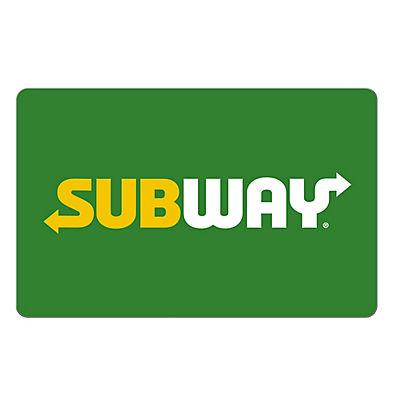 $20 Subway Gift Card