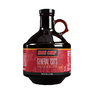 Iron Chef General Tso's Sauce and Glaze, 40 oz.