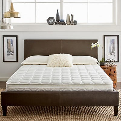 "Contour Rest Dream Support Twin Size 8"" Plush Eurotop Innerspring Mattress"