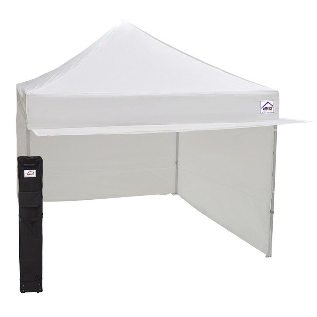 White Impact Canopy Beach Umbrella Table Accessories Drink Snack Cup Holders