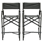 "Impact Canopy 47"" Director's Chair, 2 pk. - Black"